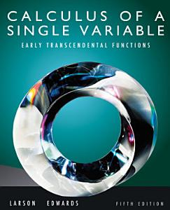 Calculus of a Single Variable  Early Transcendental Functions Book
