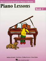 Piano Lessons Book 2 (Music Instruction)