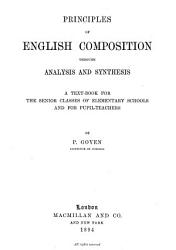 Principles of English Composition Through Analysis and Synthesis PDF
