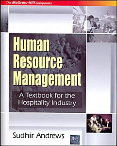 Human Resource Mgmt Tb For Hospitality Book