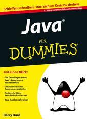 Java für Dummies: Ausgabe 6
