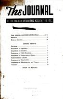 Journal of the Indiana Optometric Association PDF