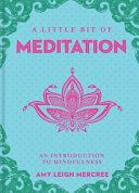 A Little Bit of Meditation