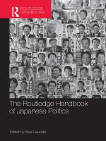 Routledge Handbook of Japanese Politics PDF