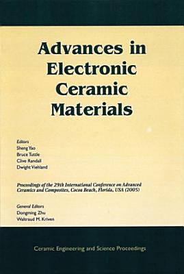 Advances in Electronic Ceramic Materials PDF