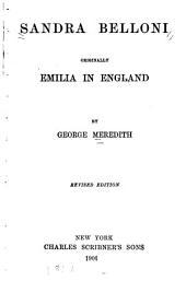 Sandra Belloni: Originally Emilia in England