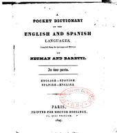 A pocket dictionary of the English and Spanish languages