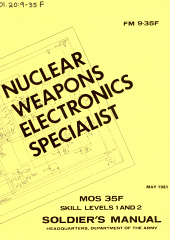 Nuclear Weapons Electronics Specialist