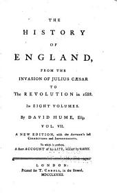 The History of England, from the Invasion of Julius Caesar to the Revolution of 1688: Volume 7