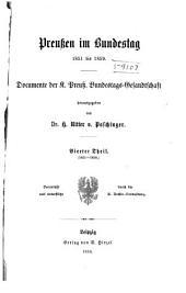 Preussen im Bundestag 1851 bis 1859: Band 23