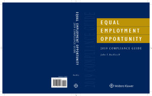 Equal Employment Opportunity 2019 Compliance Guide  IL  PDF