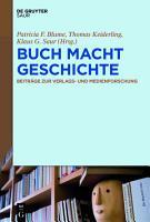 BUCH MACHT GESCHICHTE PDF