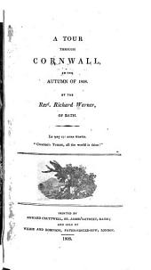 A Tour Through Cornwall, in the Autumn of 1808