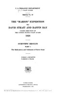 The  Marion  Expedition to Davis Strait and Baffin Bay PDF