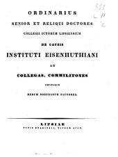 De causis Institut Eisenhuthiani