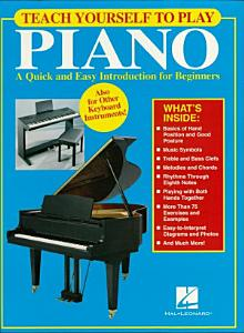 Teach Yourself to Play Piano  Music Instruction  Book