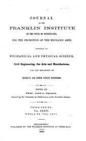 Journal of the Franklin Institute: Volume 66