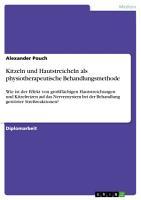Kitzeln und Hautstreicheln als physiotherapeutische Behandlungsmethode PDF