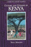 Culture and Customs of Kenya PDF