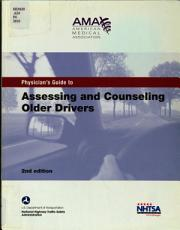 Physician s Guide to Assessing and Counseling Older Drivers PDF