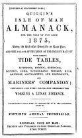 Quiggin s Isle of Man almanack PDF