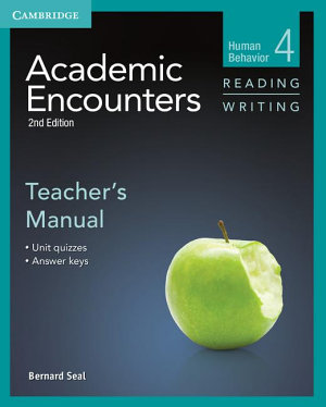 Academic Encounters Level 4 Teacher s Manual Reading and Writing PDF