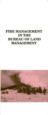 Fire management in the Bureau of Land Management