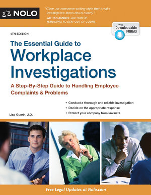 The Essential Guide to Workplace Investigations PDF