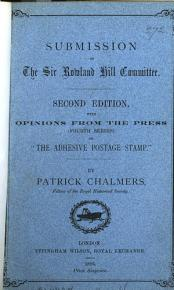 Submission of the Sir Rowland Hill committee  with opinions from the press PDF