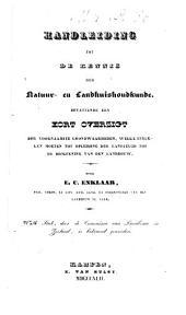 Handleiding tot de kennis der natuur- en landhuishoudkunde: Volume 1