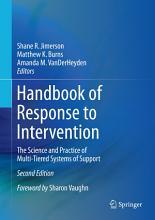 Handbook of Response to Intervention PDF