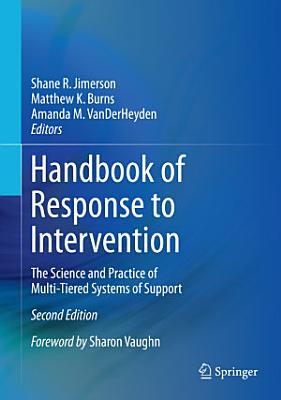 Handbook of Response to Intervention PDF