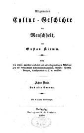 Allgemeine Cultur-Geschichte der Menschheit: Band 8