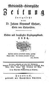 Medicinisch-chirurgische Zeitung: Band 37
