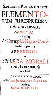Elementorum jurisprudentiae universalis libri duo