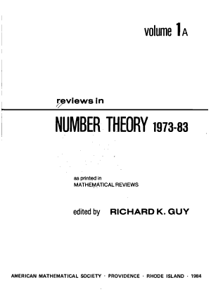 Reviews in Number Theory 1973 83 PDF