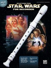Selections from Star Wars® for Recorder