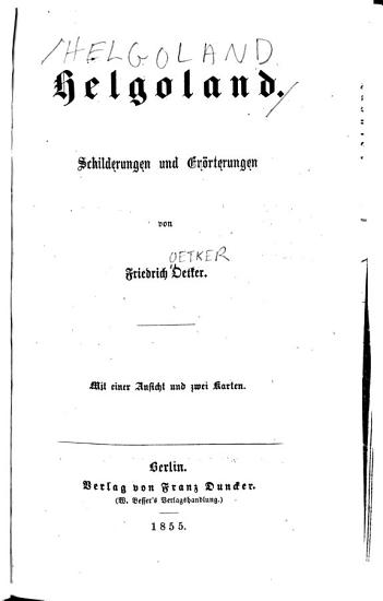Helgoland PDF