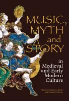 Music  Myth and Story in Medieval and Early Modern Culture PDF