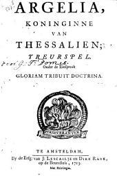 Argelia, koninginne van Thessalien: treurspel