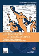 Der Diskurs der Zivilgesellschaft PDF