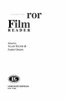 The Horror Film Reader PDF