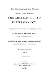 The Thousand and One Nights: Commonly Called, in England, the Arabian Nights' Entertainments, Volume 1