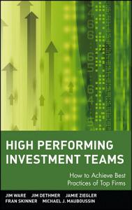 High Performing Investment Teams Book