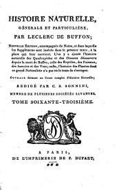 Histoire naturelle, générale et particulière: Volume16