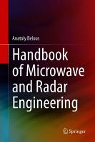 Handbook of Microwave and Radar Engineering PDF