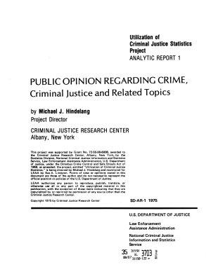 National Criminal Justice Information and Statistics Service PDF
