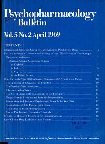 Psychopharmacology Bulletin PDF