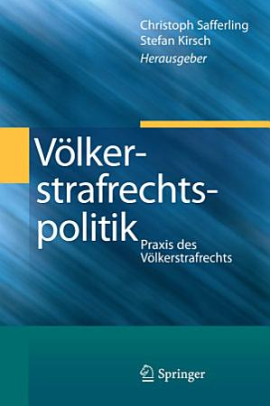 V  lkerstrafrechtspolitik PDF