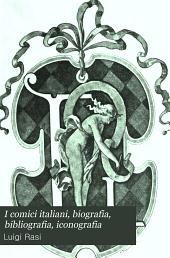 I comici italiani, biografia, bibliografia, iconografia: L-Z